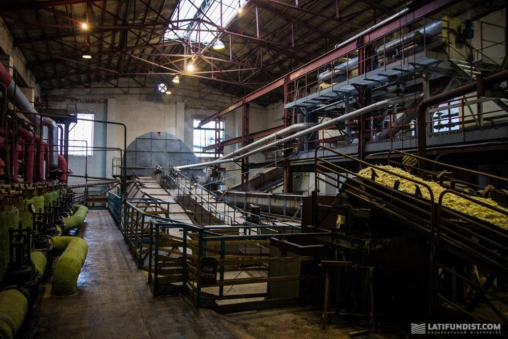 Производственные мощности Староконстантиновского сахарного завода